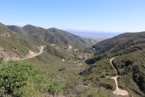 Bergstrecke San Bernardino