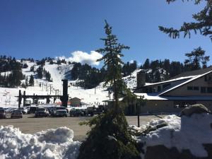 Skilift beim Big Bear Lake