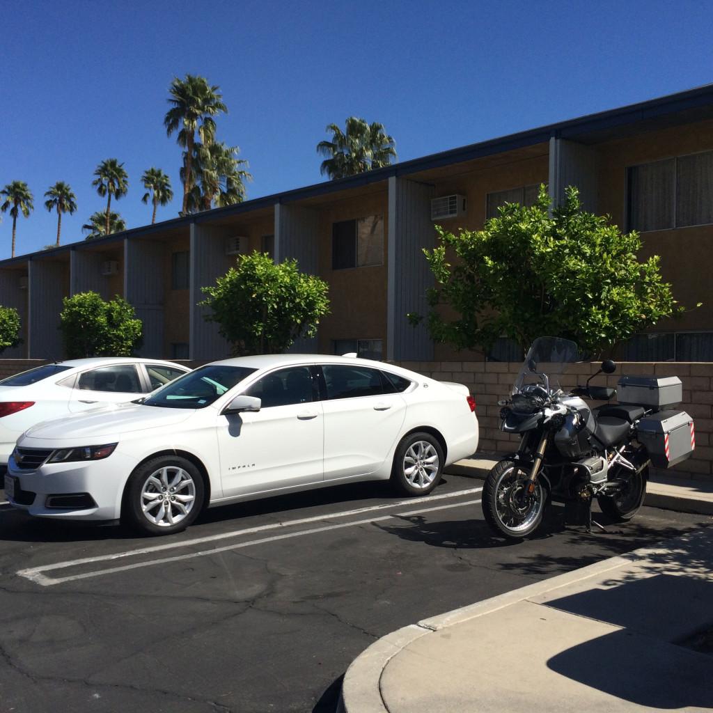 Der Chevy Impala und die BMW