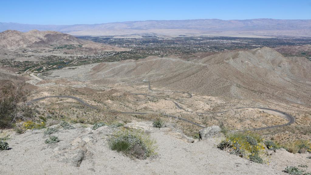 Ebene von Palm Springs