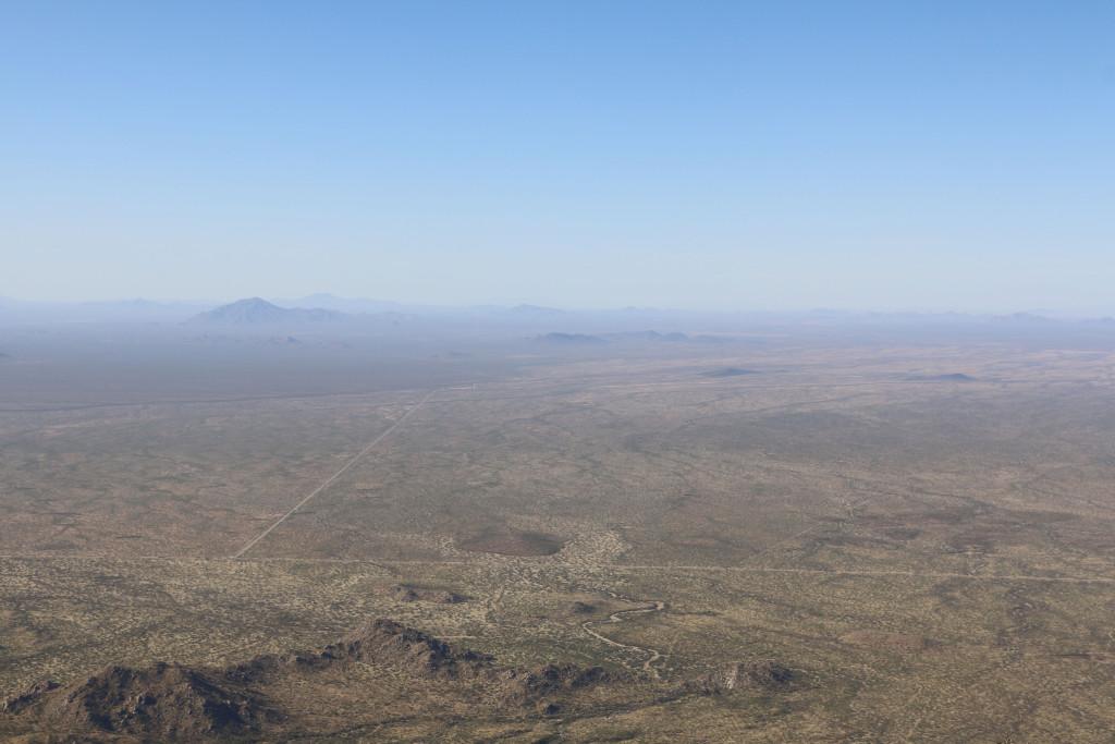 Aussicht vom Kitt Peak Observatory