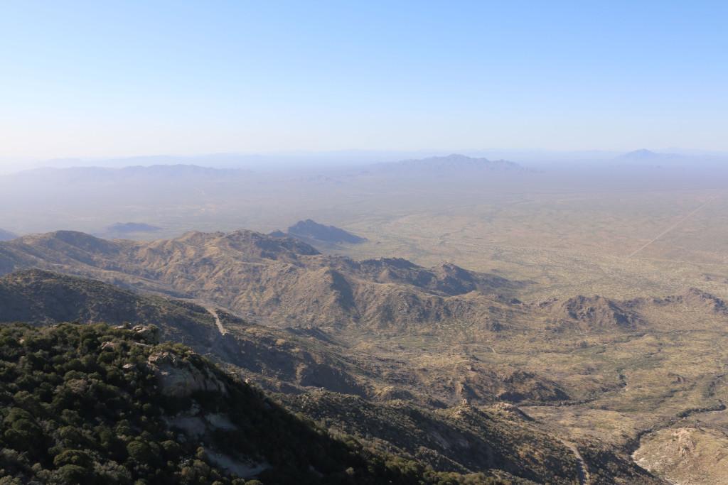 Aussicht 3 vom Kitt Peak Observatory