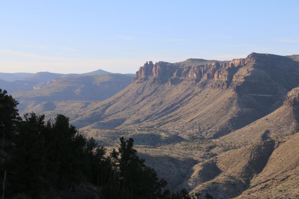 Salt River Canyon Nordwest