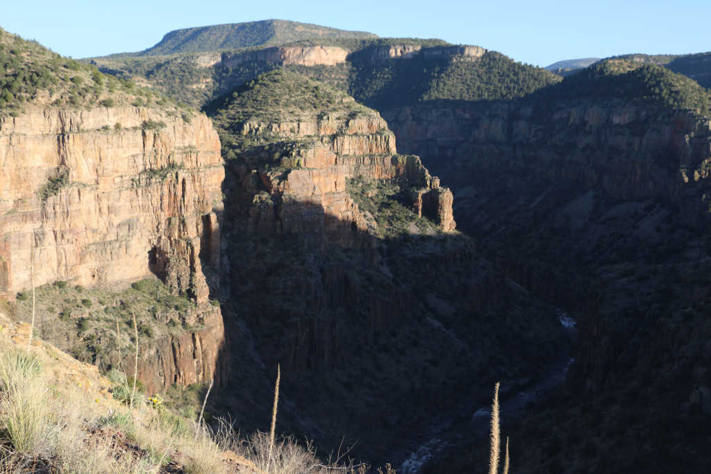 Salt River Canyon Skulpturen