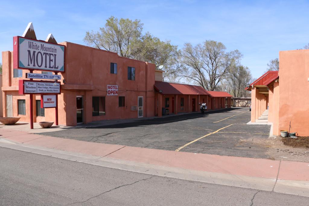 White mountain Motel ind Springerville