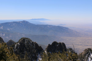Ausblick vom Watermelon Mountain 1