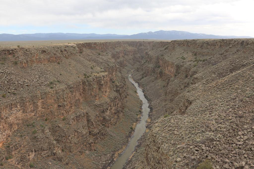 Rio Grande nach Süden