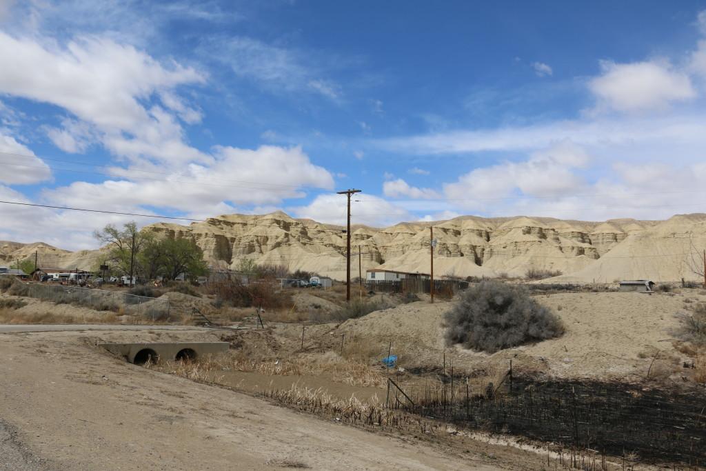 Sandsteinfelsen bei Shiprock
