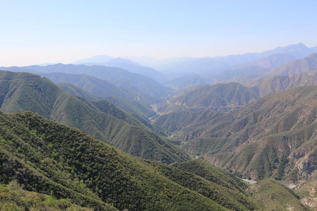 Rückseite Mount Baldy