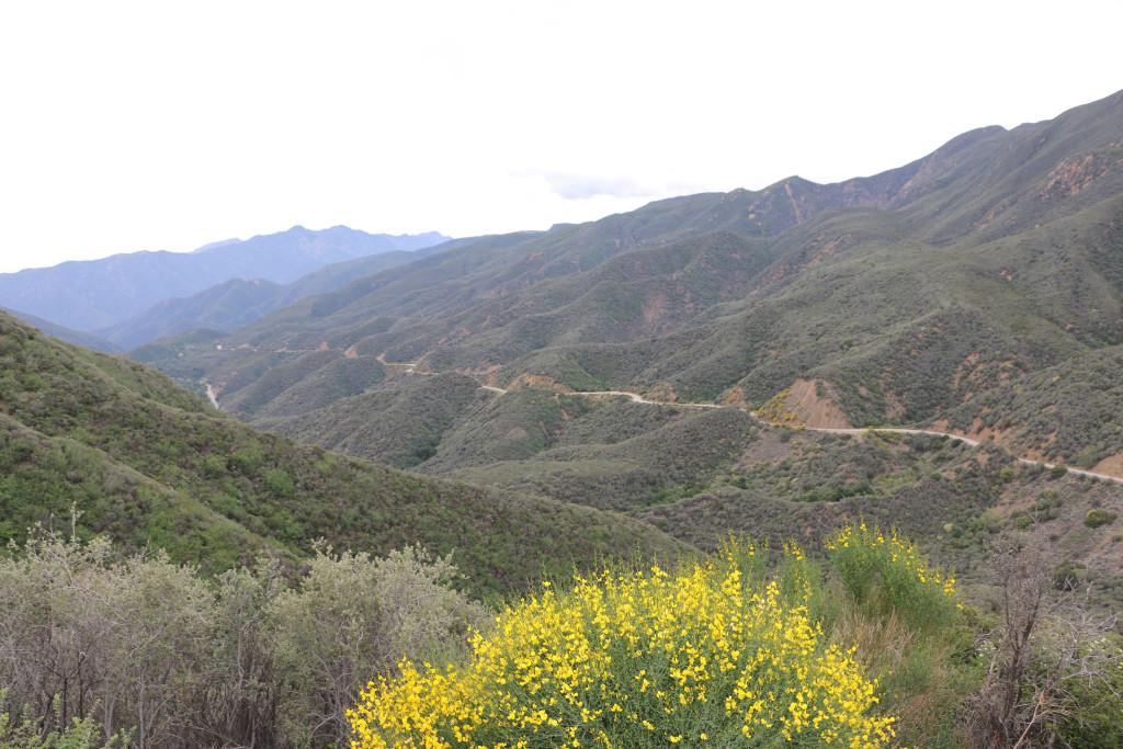 Schöne Bergstrecke