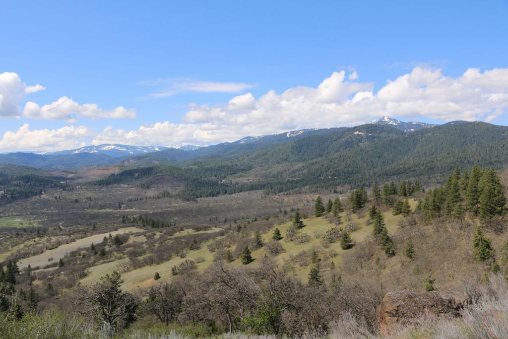 Schneeberge gegen Oregon