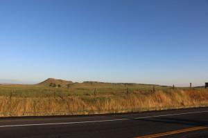 Sonnenuntergang vor Fresno 2