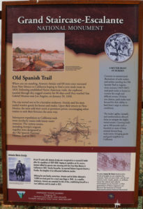 Old Spanish Trail Tafel