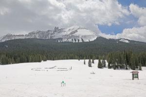 Schneeberg beim Lizard Head Pass 1