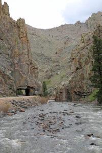 Enge Passage des Cache la Poudre River