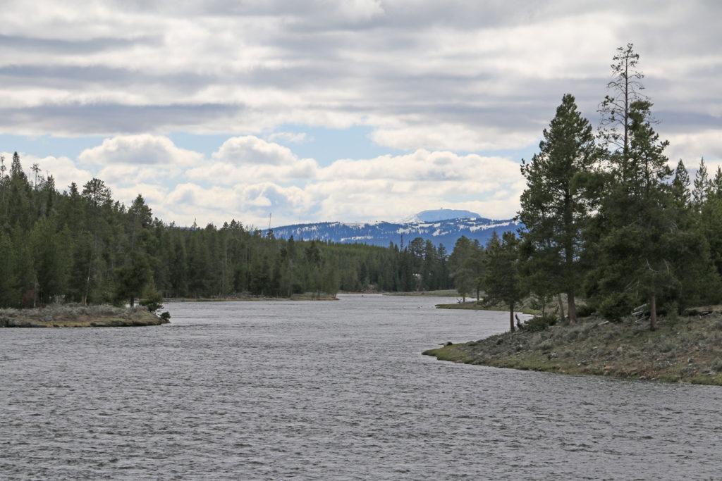 Fluss im Yellowstone National Park