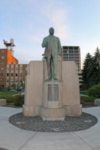 Steunenberg-Denkmal vor dem Idaho Capitol