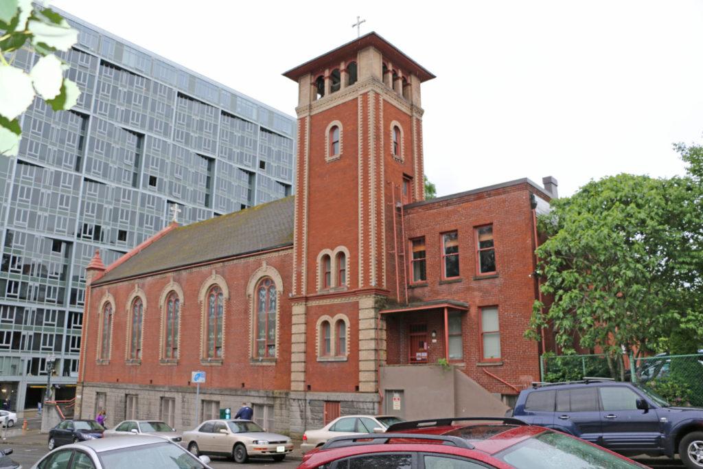 Portland Kirche