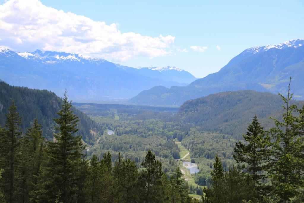 Mündung des Squamish River